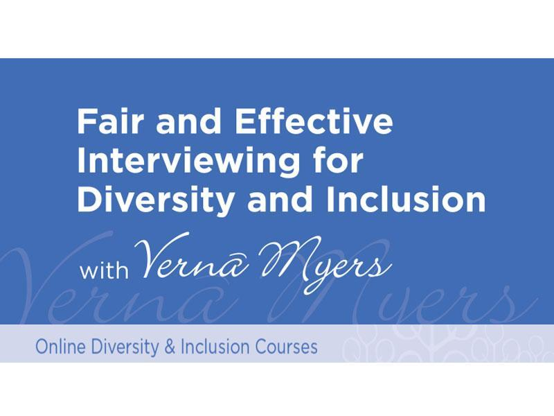 New TVMC-U Course – Fair and Effective Interviewing for Diversity and Inclusion